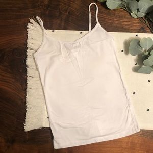XS Forever 21 White Cami Tank Top